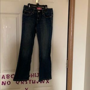 Girls Size 8 Old Navy Bootcut Adjustable Jeans